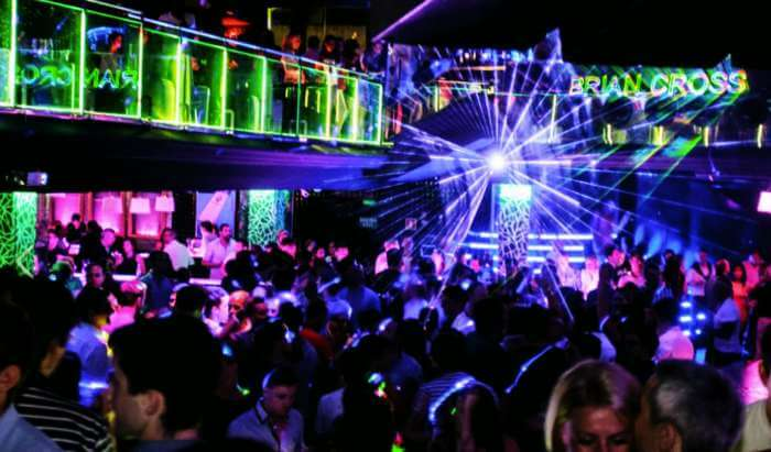 Party in Tito's Club - one of the best places to visit in Goa