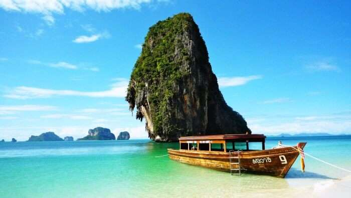 Phra Nang beach is amongst the most scenic and top rated beaches in Thailand and in the world