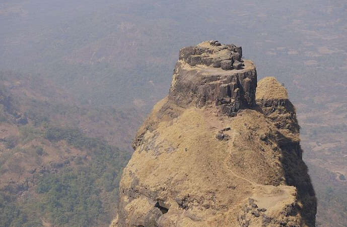 Prabalgad Fort Trek View