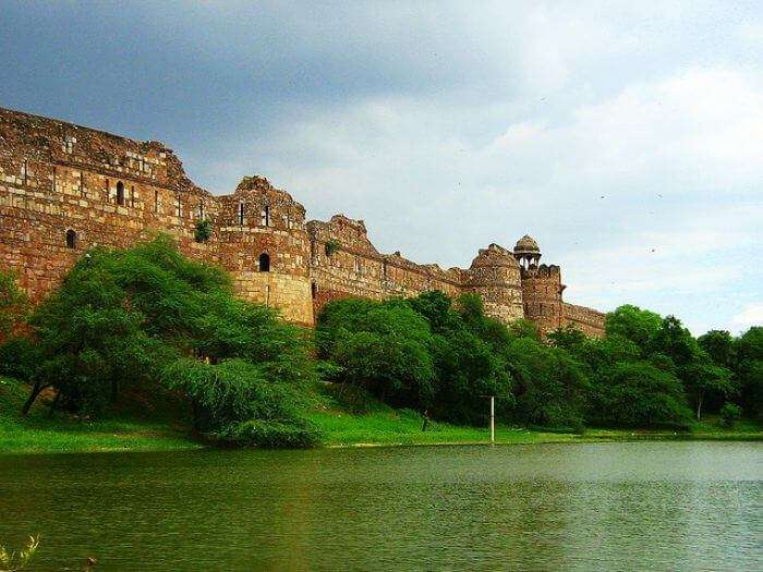 Best place for couples in Delhi; Purana Quila