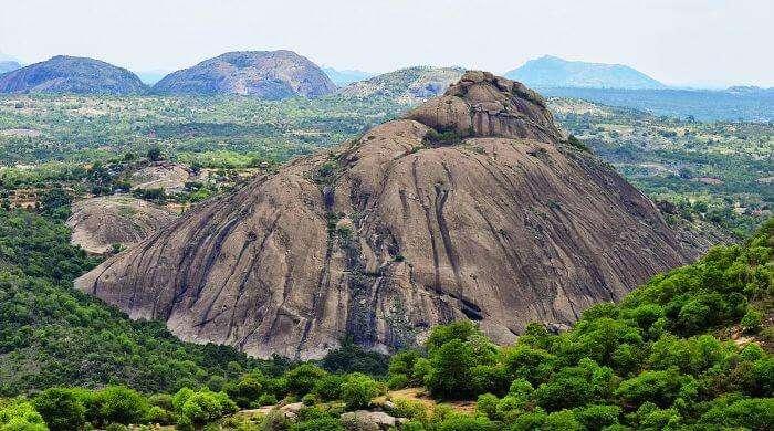 Ramanagaram-The famous Ramgarh of Sholay fame