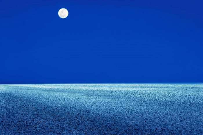 Rann of Kutch on a full moon night