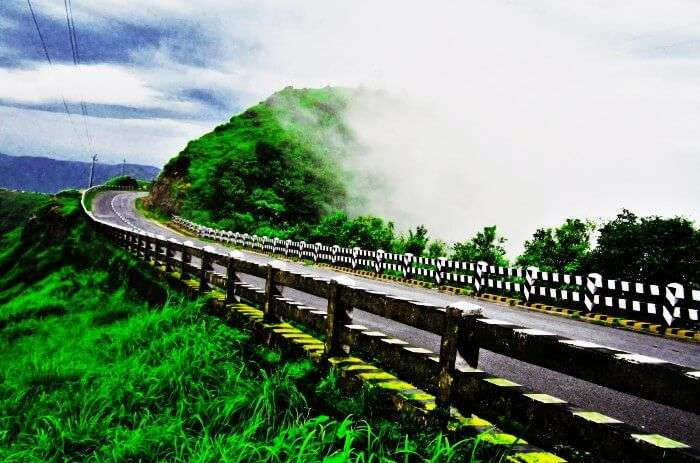Road trip from Shillong to Cherrapunji during monsoons