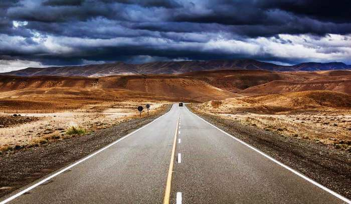 Cloudy skies of Ruta 40, Argentina