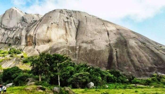 Savandurga Trek-Day view