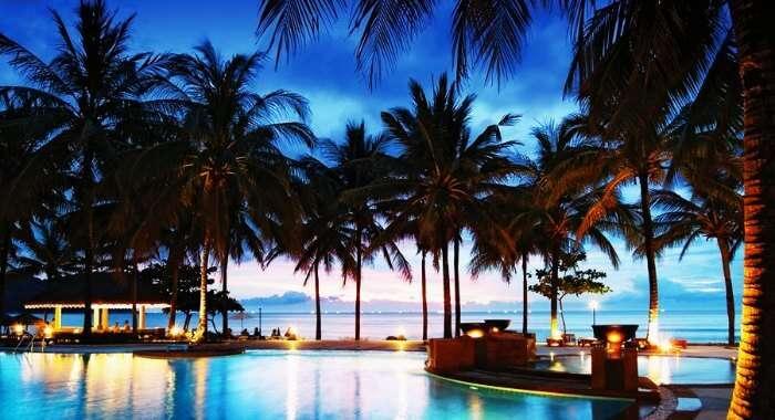 Sea View from Katathani Beach Resort- one of the best resorts in Phuket for honeymoon