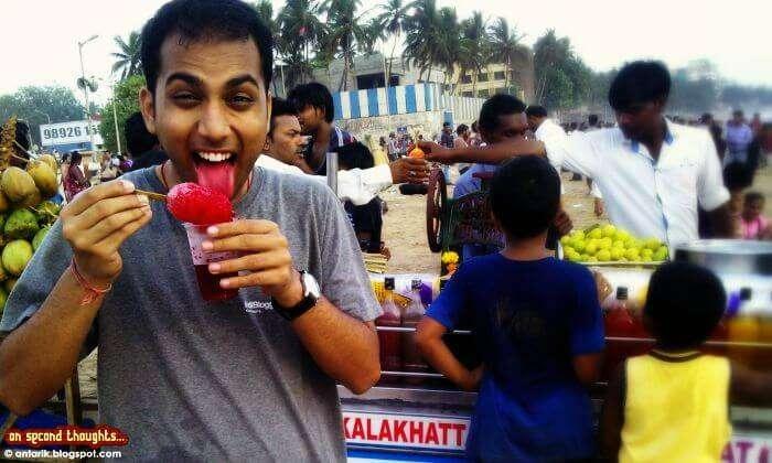 Slurpicious gola in Mumbai