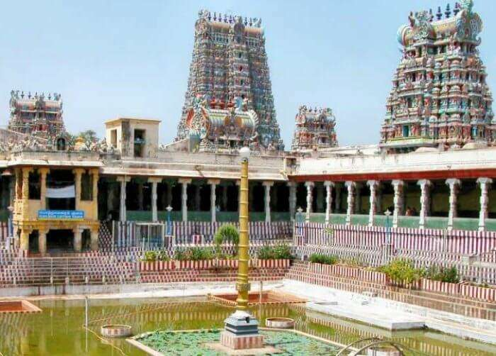 The majestic temples of Madurai
