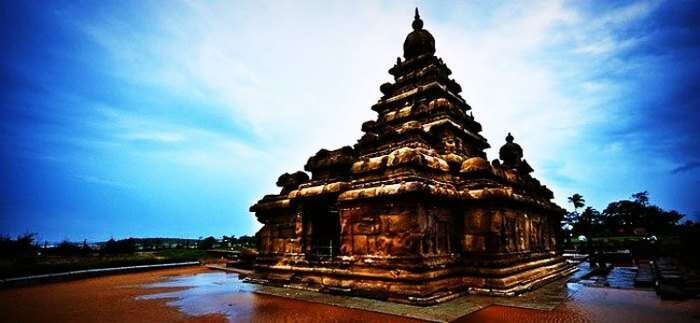The ancient temple of Mahabalipuram
