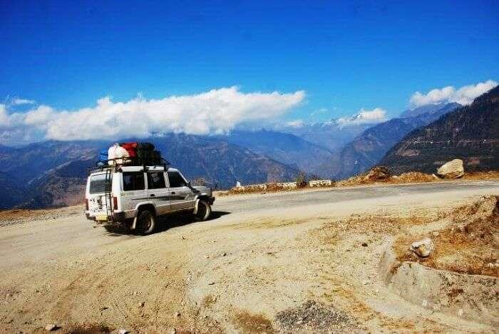 Road trip from Tezpur to Tawang