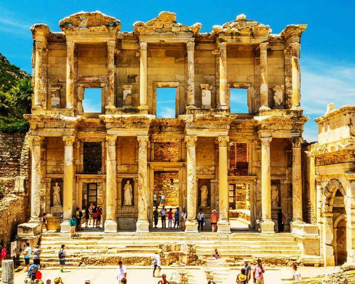 The library at Ephesus in Turkey