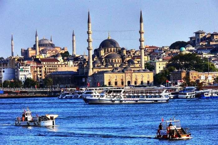 A luxury Thomson Cruise at Hagia Sofia