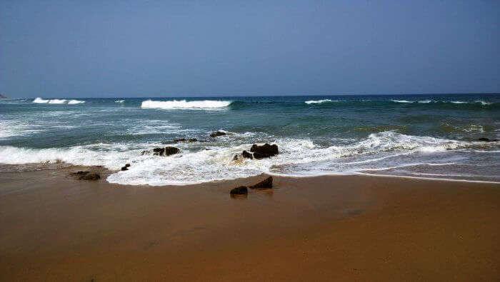 Yarada Beach in Andhra Pradesh
