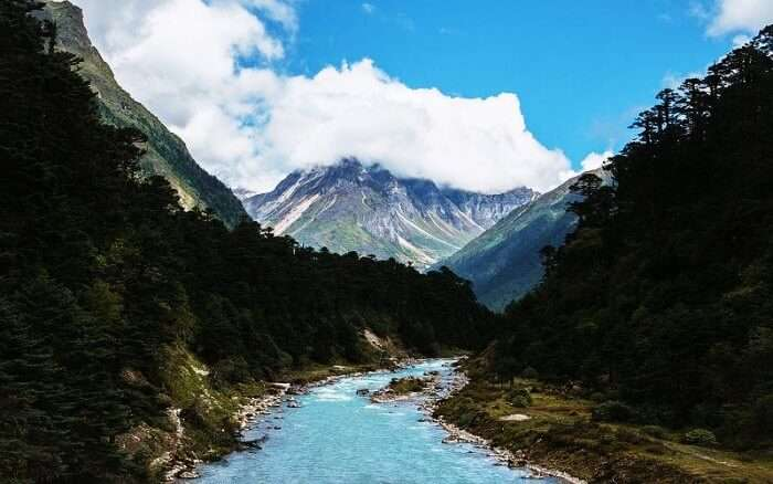 Yumthang Valley in Sikkim