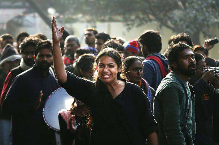 The youth of a New India took to the roads to show its frustrations.