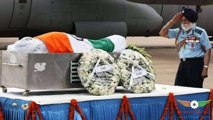 IAF veteran Arjan Singh pays homage to Dr. Kalam