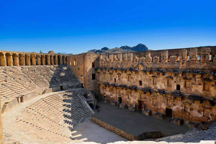 Aspendos city – a phenomenal place to see in Antalya