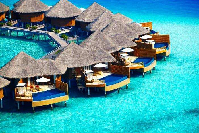 Baros is one of the best water villas in Maldives