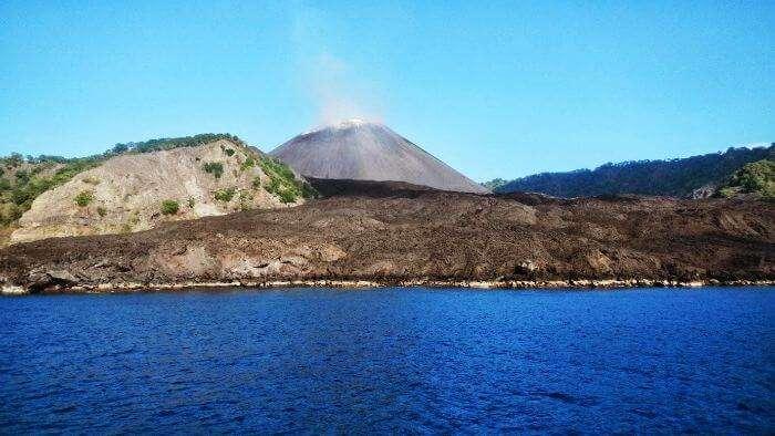 Barren Island – Only active volcanic island of India