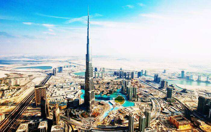 The tallest building of the world - Burj Khalifa is a must on every traveller's list of best places to visit in Dubai