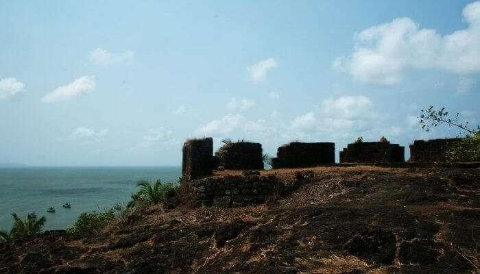 Cabo de rama fort in Goa