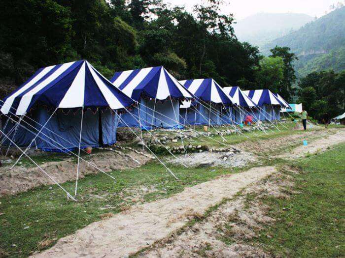 Camping in Binsar near Almora