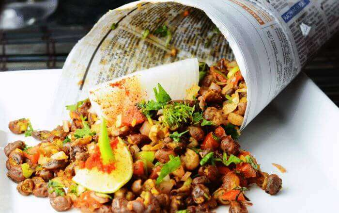 The appealing chaat of Chana Zor Garam