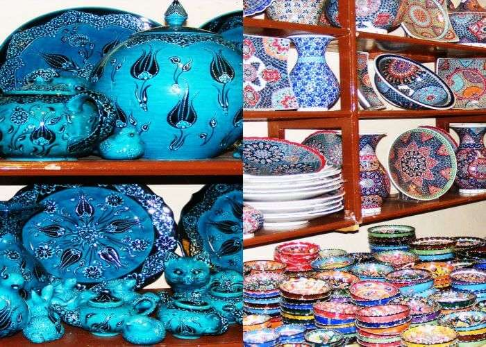 Cobalt blue and other Iznik Pottery of Istanbul
