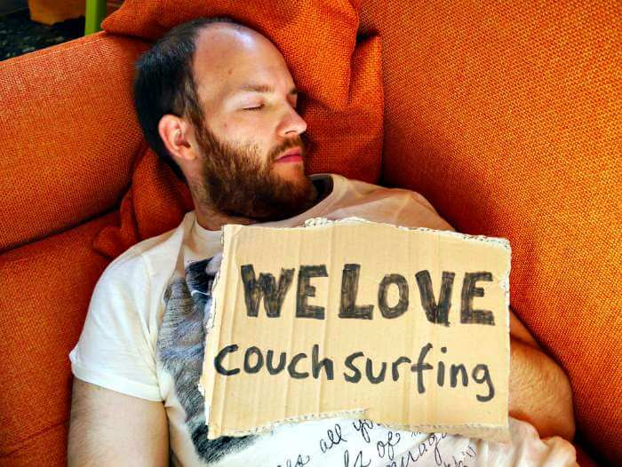 Couchsurfing; how can i travel the world for free