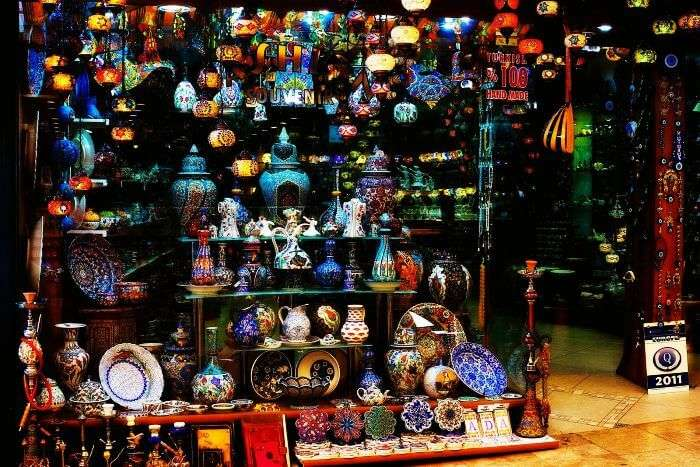 Cultural items on display in Istanbul