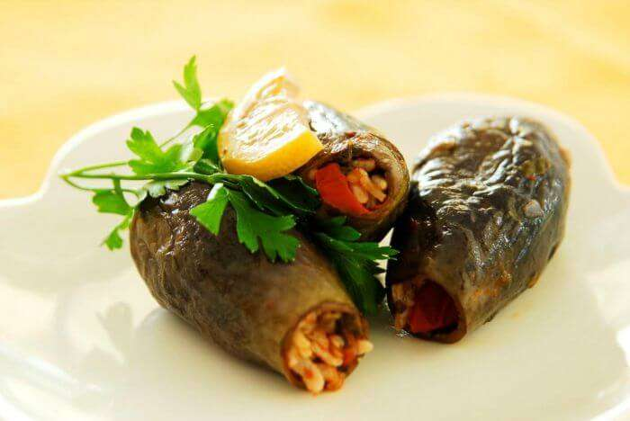 A well served Dolma