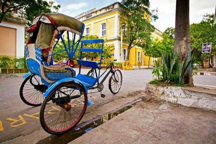 The colorful Pondicherry- the French Colony of India
