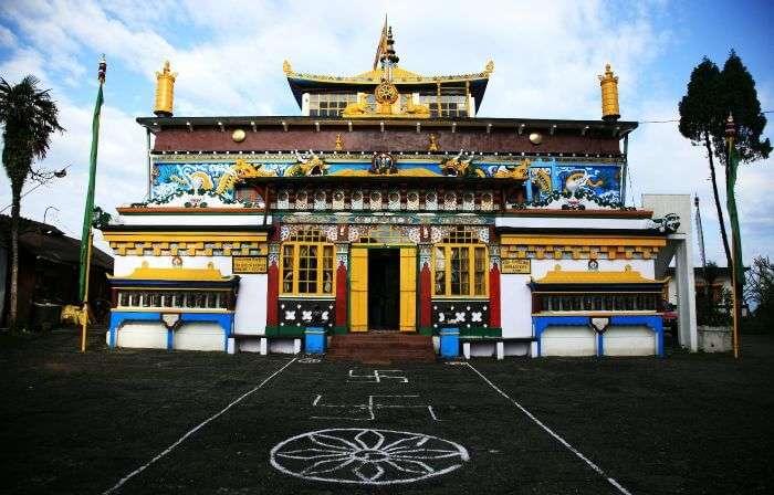 Ghum Monastery in Darjeeling