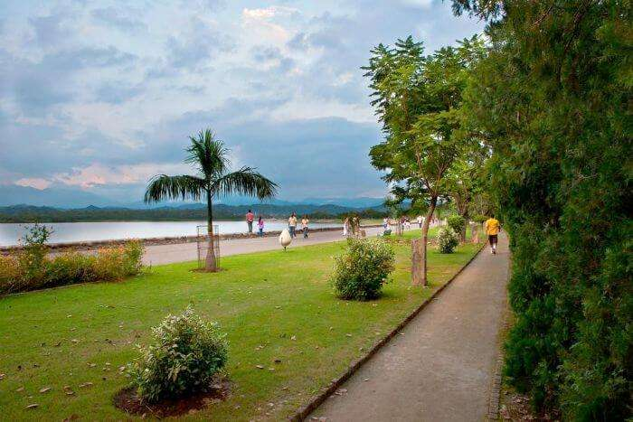 The green lawns of Chandigarh - the city beautiful