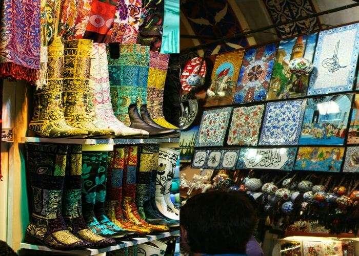 Best collection of handicrafts and souvenirs in Arasta Bazaar