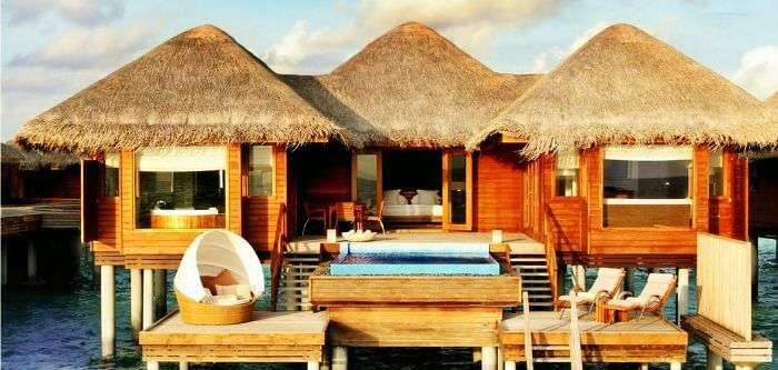 The stunning ocean bungalow at Huvafen Fushi Maldives
