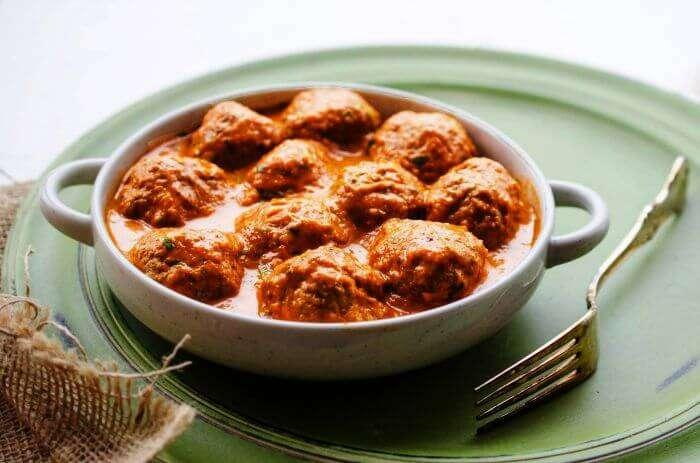 the meatballs og kofte