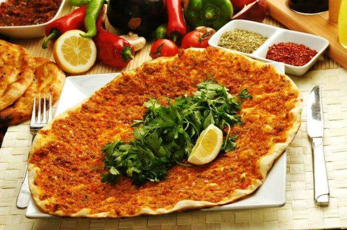 Turkish tacos- Lahmacun