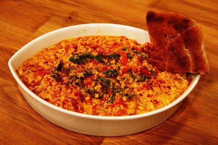 Menemen- healthy Turkish breakfast