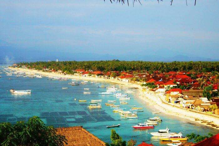 Nusa Lembongan from the top