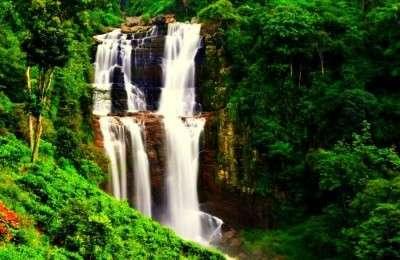 Ramboda Falls is the 11th highest waterfall in Sri Lanka