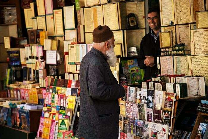 Sahaflar Carsisi – Istanbul street shopping for old books