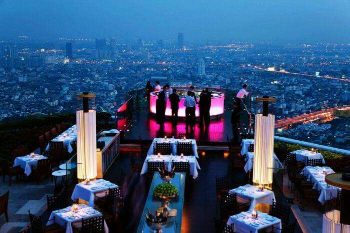 Sky Bar in Sirocco