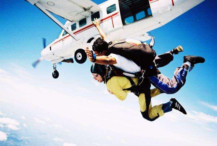 Tandem Jump with an instructor