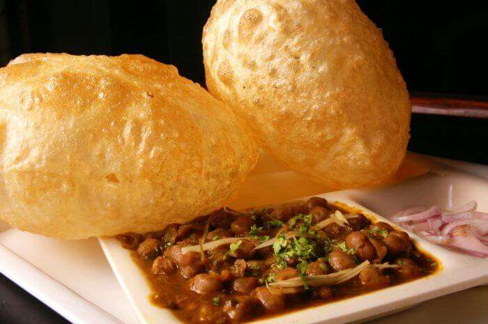 The best street food in Delhi — Chole Bhature