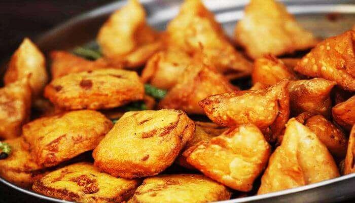 The yummy Pakoras