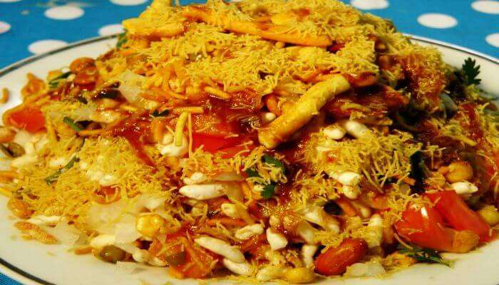 Top street food in Delhi — Bhel Puri