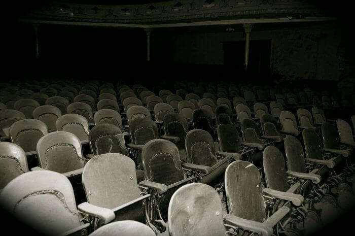 The spooky Victory Theatre in Pune