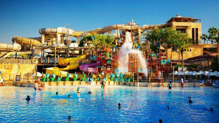 Wild Wadi amusement park is amongst the best places to visit in Dubai with kids