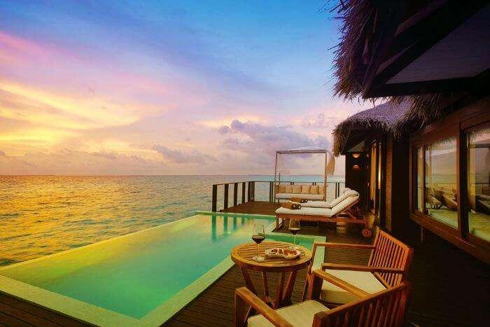 Zitahli Kuda's Aqua Villa in Maldives